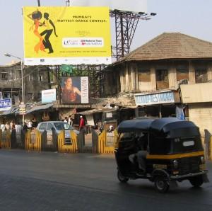 tuk tuk in Mumbai