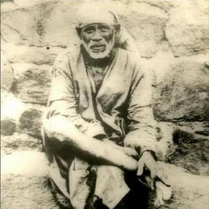 Sai Baba of Shirdi, c1838-1918 (`be contented and cheerful with what you have')
