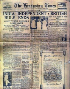 16-Aug-1947 First News of Independence INDIA