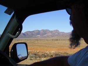 Flinders Ranges drive