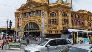 Flinders St. Station - Melbourne