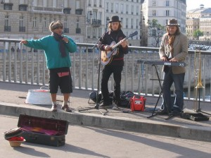 Busking Troubadours - Paris, France