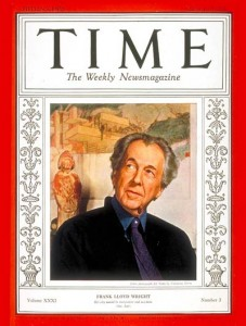 Frank Lloyd Wright - Time Magazine, 1938