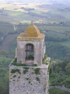 Bell with a view - San Gimignano