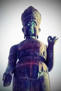 Goddess of Mercy and World Peace - Yudanaka, Japan