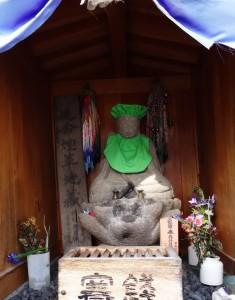 The Tobacco Deity - Yudanaka, Japan
