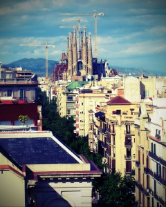 Segrada Familia - Barcelona, Spain