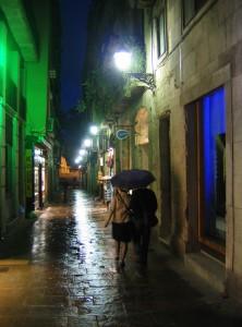 Late Night Stroll - Barcelona
